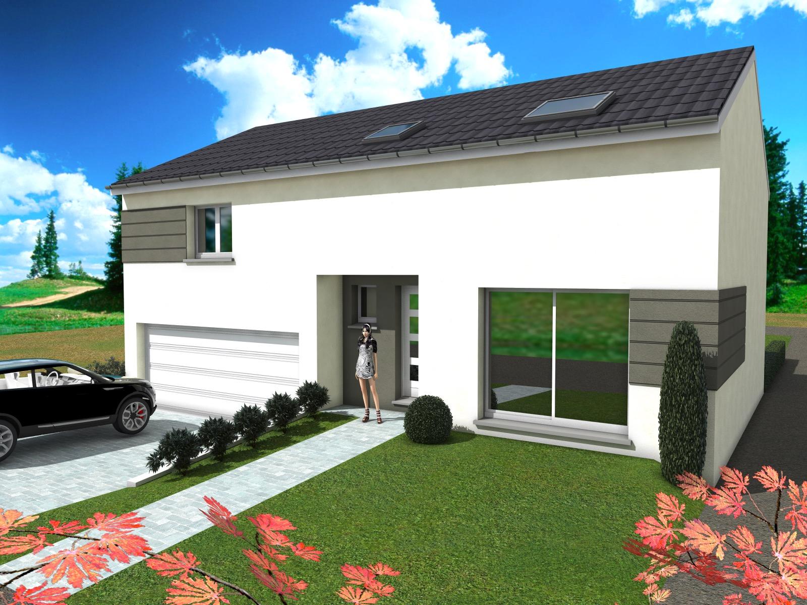 Le Constructeur De Bourgogne constructeur de maison individuelle plain-pied avec sous sol à maizeroy