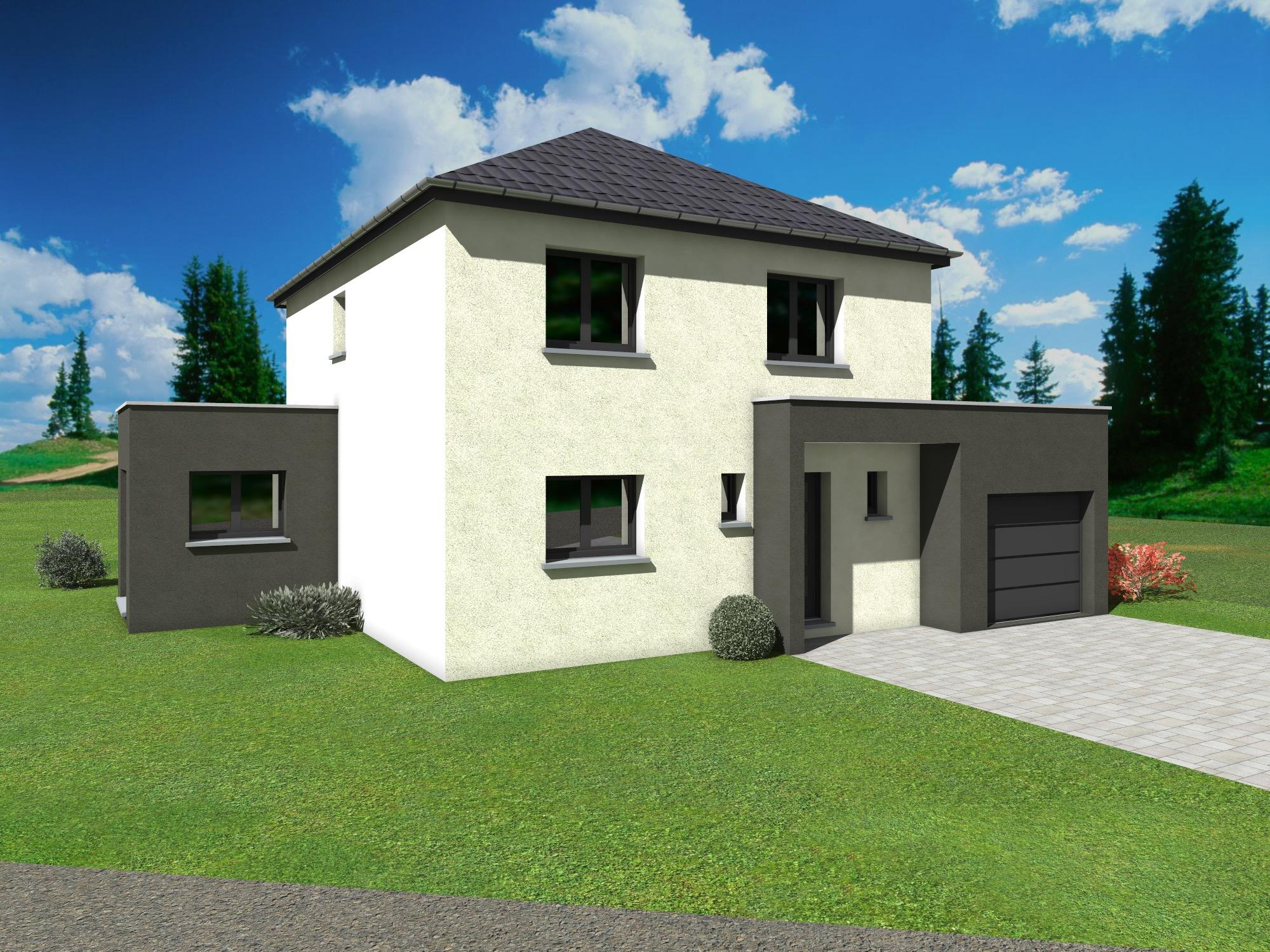 Constructeur De Maison Contemporaine Neuve A Etage A L Hopital