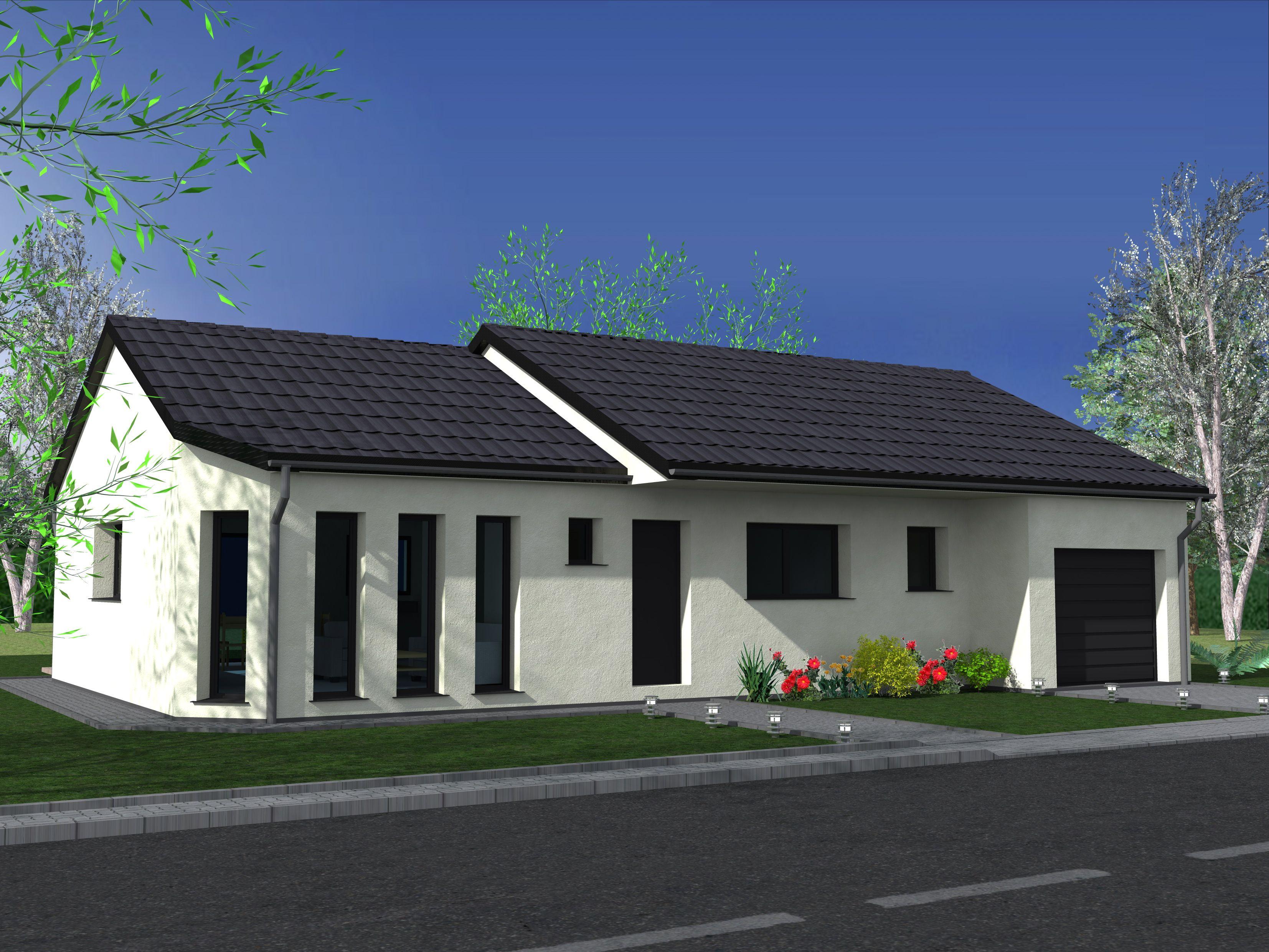 Maison de plein pied avec garage à HILBESHEIM - Keval Construction